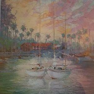 picture of boat scene